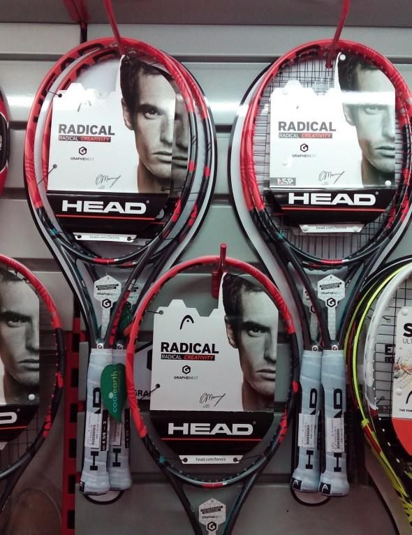 Head Radical Graphene XT en VTS Tenis